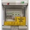 Kép 1/2 - 1000V DC védelmi elosztó - ExPLe-DC10-1B1T1+2-MC4