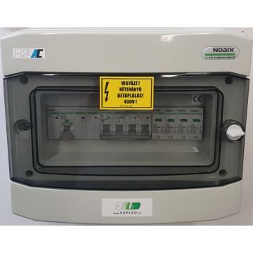 3 fázisú AC védelmi elosztó - ExPLe-AC-3Fp4-K32-M10C-T2-IP65