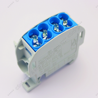 Fővezetéki sorkapocs 2x25/2x16 mm2 HLAK-25 Weidmüller