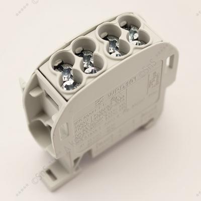 Fővezetéki sorkapocs 2x25/2x16 mm2 szürke HLAK-25 Weidmüller