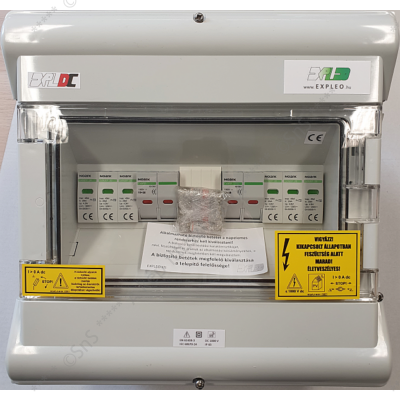 1000V DC védelmi elosztó - ExPLe-DC10-2x-2B1T1+2-MC4 - 770136