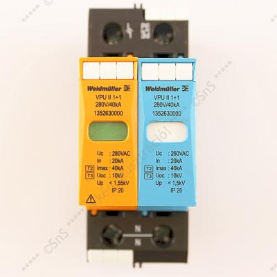 Túlfeszültség levezető 1p+N 280V AC VPU II 1+1 280V/40kA